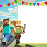 Free Printable Minecraft Birthday Invitation | Party Printables   Free Printable Minecraft Birthday Party Invitations Templates