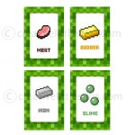 Free Printable Minecraft Food Tent Labels   Bing Images | Minecraft   Free Printable Minecraft Food Labels
