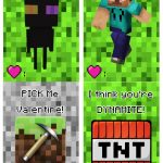 Free Printable Minecraft Valentine's Day Cards | Making Lemonade   Free Printable Valentines Cards For Son