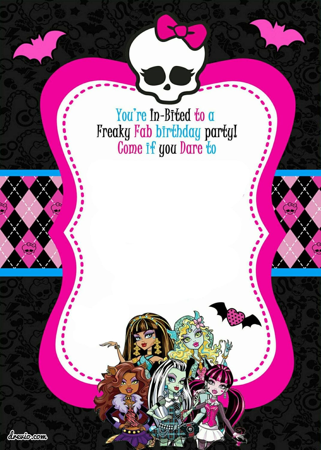 Free Printable Monster High Birthday | Free Printable Birthday - Free Printable Monster High Stickers
