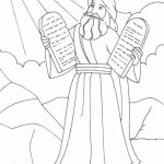Free Printable Moses Coloring Pages For Kids | Projects To Try | Lds   Free Printable Ten Commandments Coloring Pages