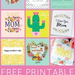 Free Printable Mother's Day Cards   Happiness Is Homemade   Free Printable Picture Cards