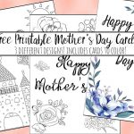 Free Printable Mother's Day Cards (Some Of Them You Can Color!)   Free Printable Mothers Day Cards To Color