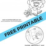 Free Printable Mother's Day Cards To Colour   Mum In The Madhouse   Free Printable Mothers Day Cards To Color