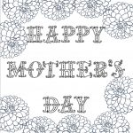 Free Printable Mother's Day Coloring Pages: 4 Designs   Free Printable Mothers Day Coloring Pages