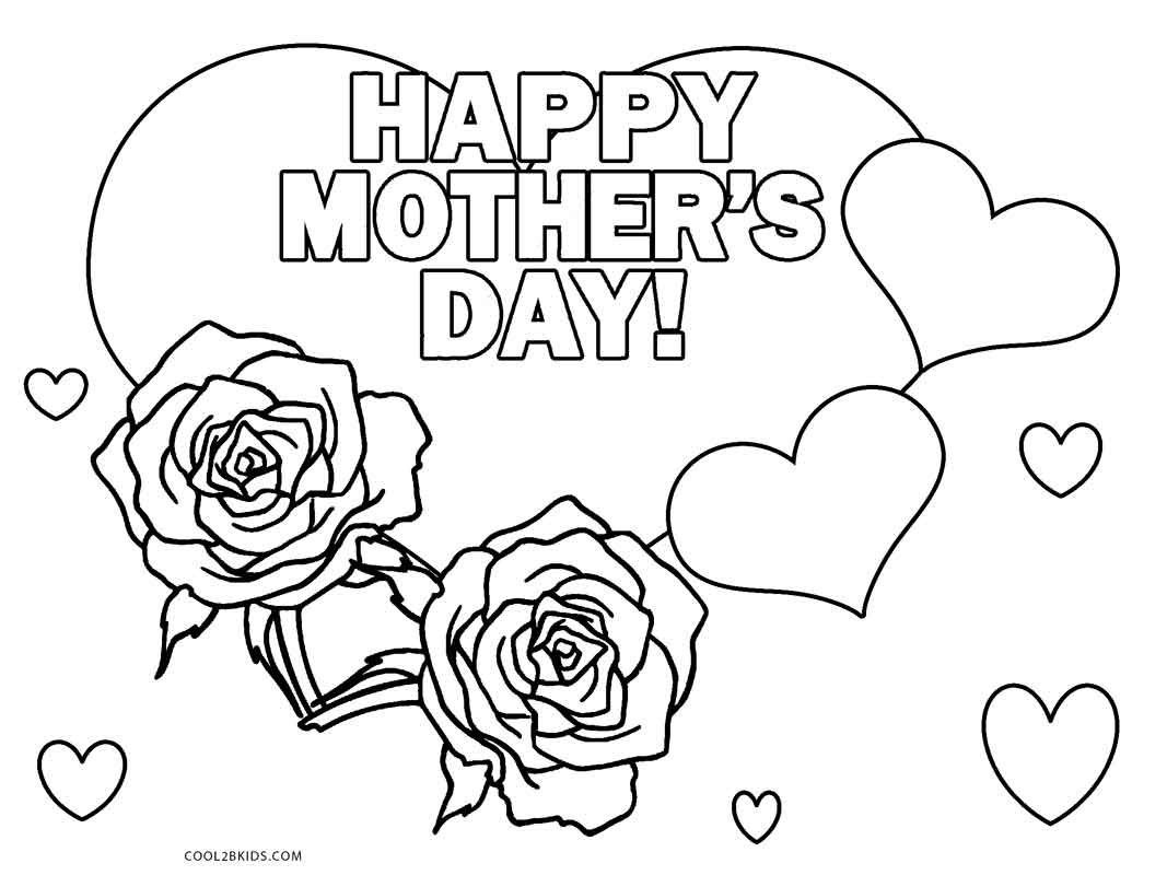 Free Printable Mothers Day Coloring Pages For Kids | Cool2Bkids - Free Printable Mothers Day Coloring Sheets