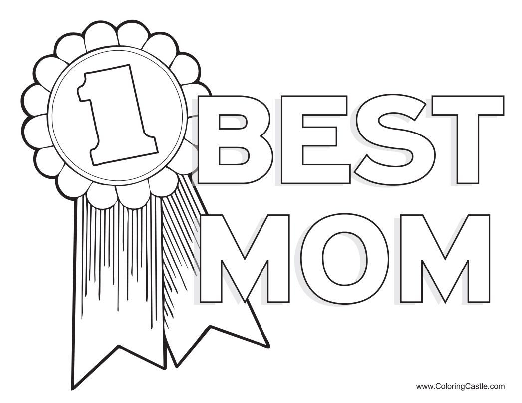 Free, Printable Mother's Day Coloring Pages - Free Printable Mothers Day Cards To Color