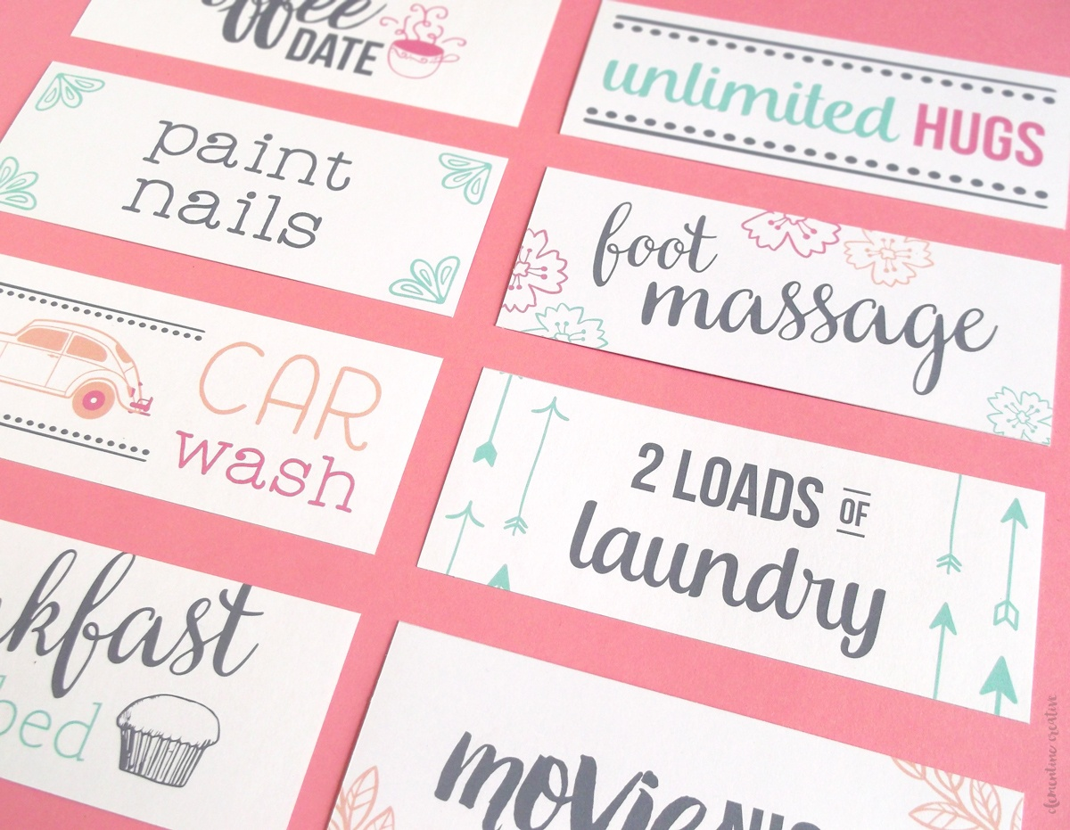 Free Printable Mother's Day Coupons To Make Mom's Day - Free Printable Coupons For Husband
