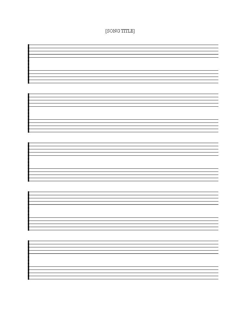 Free Printable Music Staff Sheet 5 Double Lines - Download This Free - Free Printable Staff Paper Blank Sheet Music Net