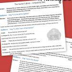 Free Printable Nativity Skit To Act Out The Birth Of The Savior   Free Printable Christmas Plays For Sunday School