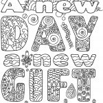 Free Printable New Year Coloring Pages | Coloring For Grown Ups   New Year Coloring Pages Free Printables