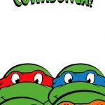 Free Printable Ninja Turtle Birthday Party Invitations – Bagvania   Free Printable Tmnt Birthday Invitation Template