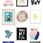 Free Printable Nursery Art   Project Nursery   Free Nursery Printables