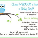 Free Printable Owl Baby Shower Invitations | Owl Let You In If You   Free Printable Baby Shower Invitations For Boys