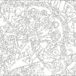 Free Printable Paintnumbers For Adults   Coloring Home   Free Printable Color By Number For Adults