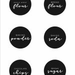 Free Printable Pantry Labels To Organize Your Kitchen | Making Lemonade   Free Printable Pantry Labels