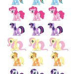 Free Printable Party Goods | Dani's 8Th Birthday My Little Pony   My Little Pony Free Printables