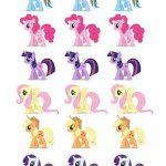 Free Printable Party Goods | Dani's 8Th Birthday My Little Pony   My Little Pony Free Printables