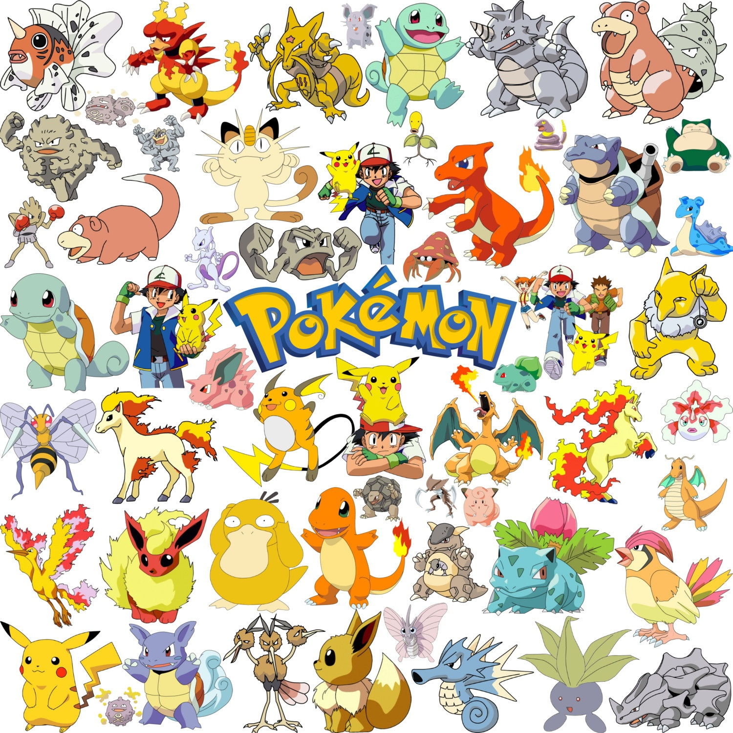 Free Printable Pokemon Clipart Clipartfest - Wikiclipart - Free Printable Pictures Of Pokemon