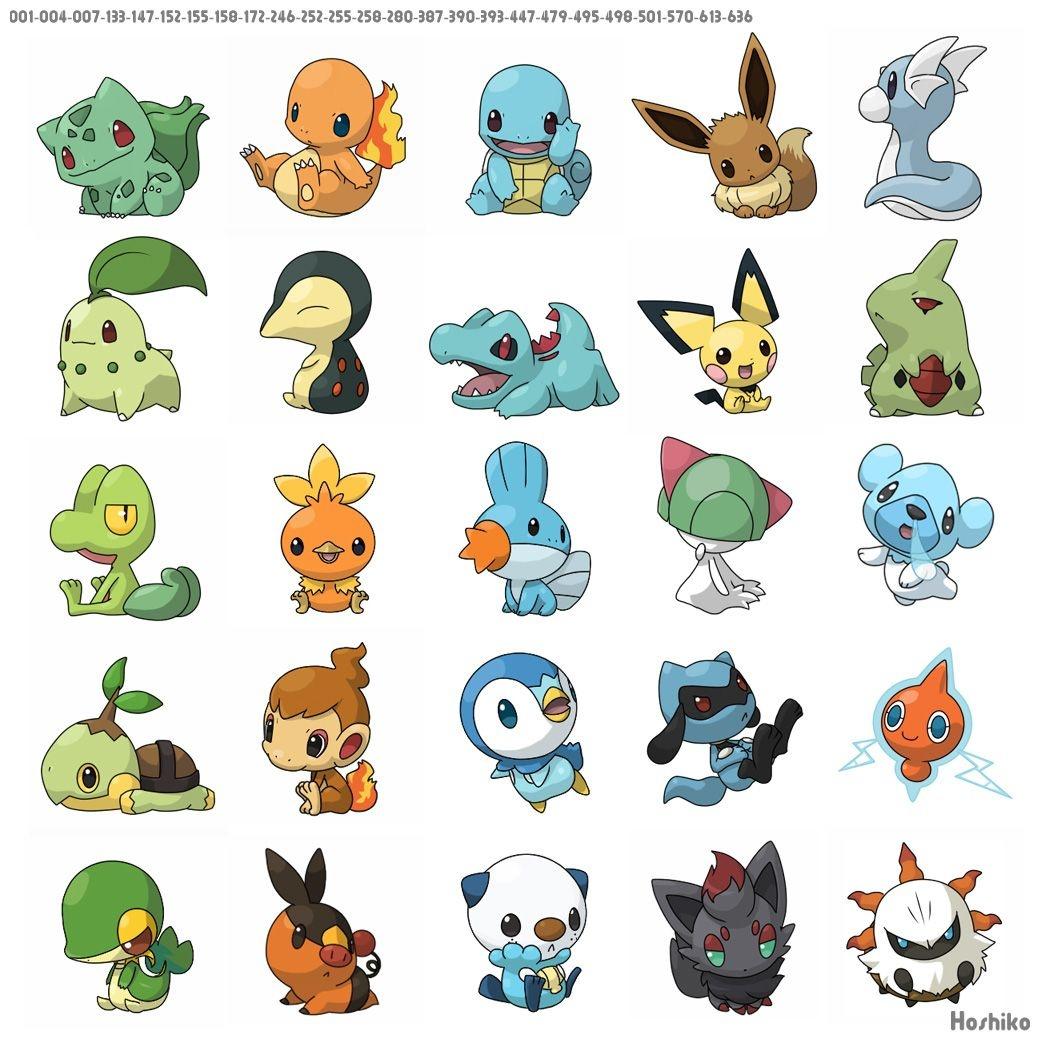 Free Printable Pokemon Stickers & Charms   Pokemon Printables - Free Printable Pictures Of Pokemon