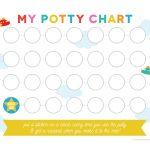 Free Printable Potty Training Chart   Potty Training Chart Free Printable