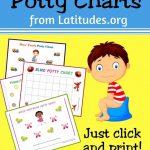 Free Printable Potty Training Charts For Boys And Girls   Acn Latitudes   Potty Training Chart Free Printable