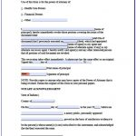 Free Printable Power Of Attorney Form Indiana   Form : Resume   Free Printable Power Of Attorney Forms