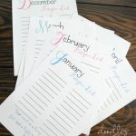 Free Printable Prayer List For The Entire Year. Updated Without The   Free Printable Prayer List
