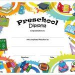 Free Printable Preschool Diplomas | Preschool Classroom | Graduation   Free Printable Graduation Certificates Templates