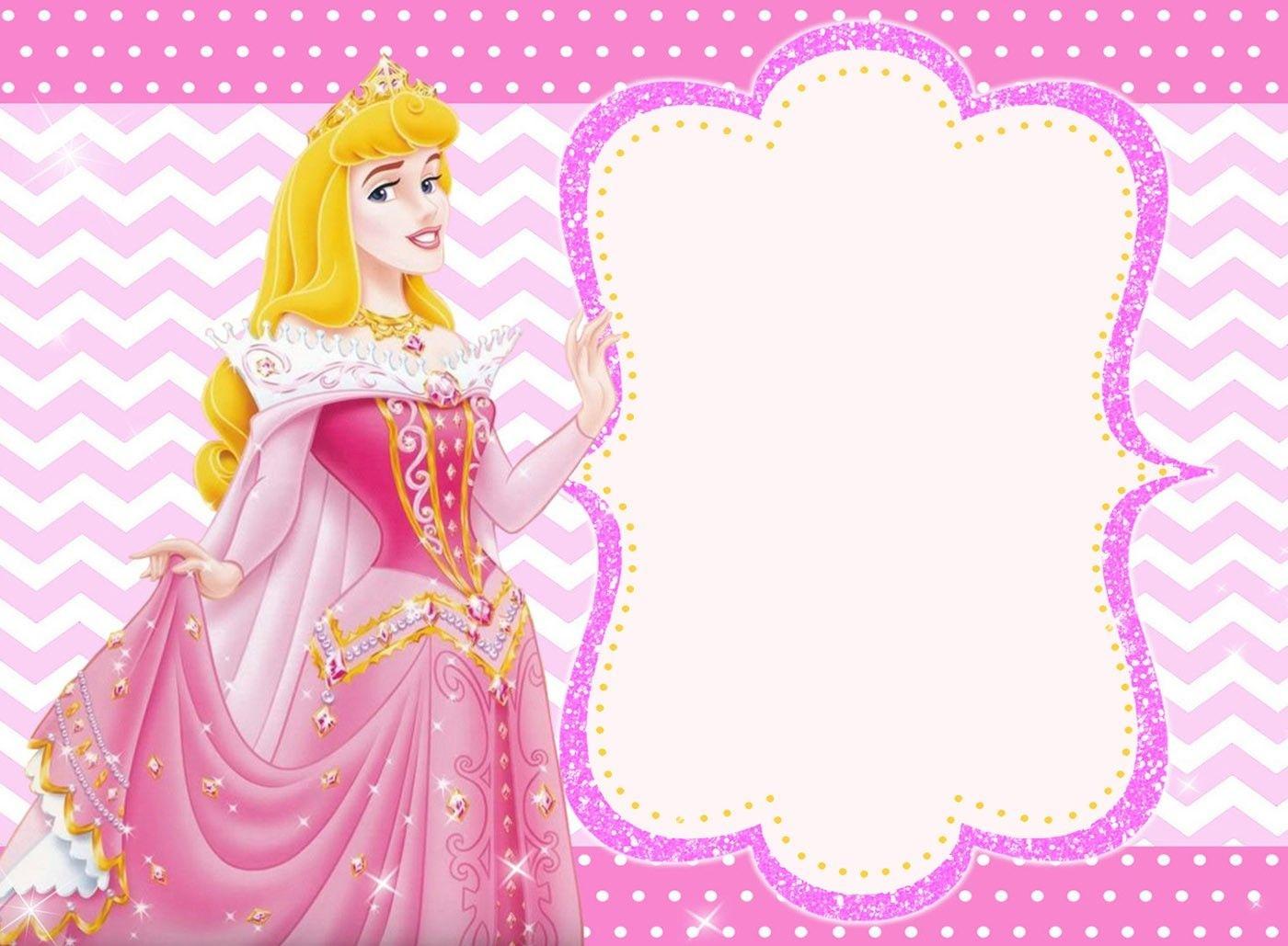 Free Printable Princess Invitation Templates | Invitations - Free Printable Princess Invitation Cards