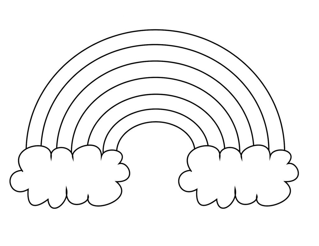 Free Printable Rainbow Coloring Pages For | Art | Coloring Sheets - Free Printable Rainbow Pictures