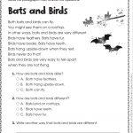 Free Printable Reading Comprehension Worksheets For Kindergarten   Free Printable Reading Passages For 3Rd Grade