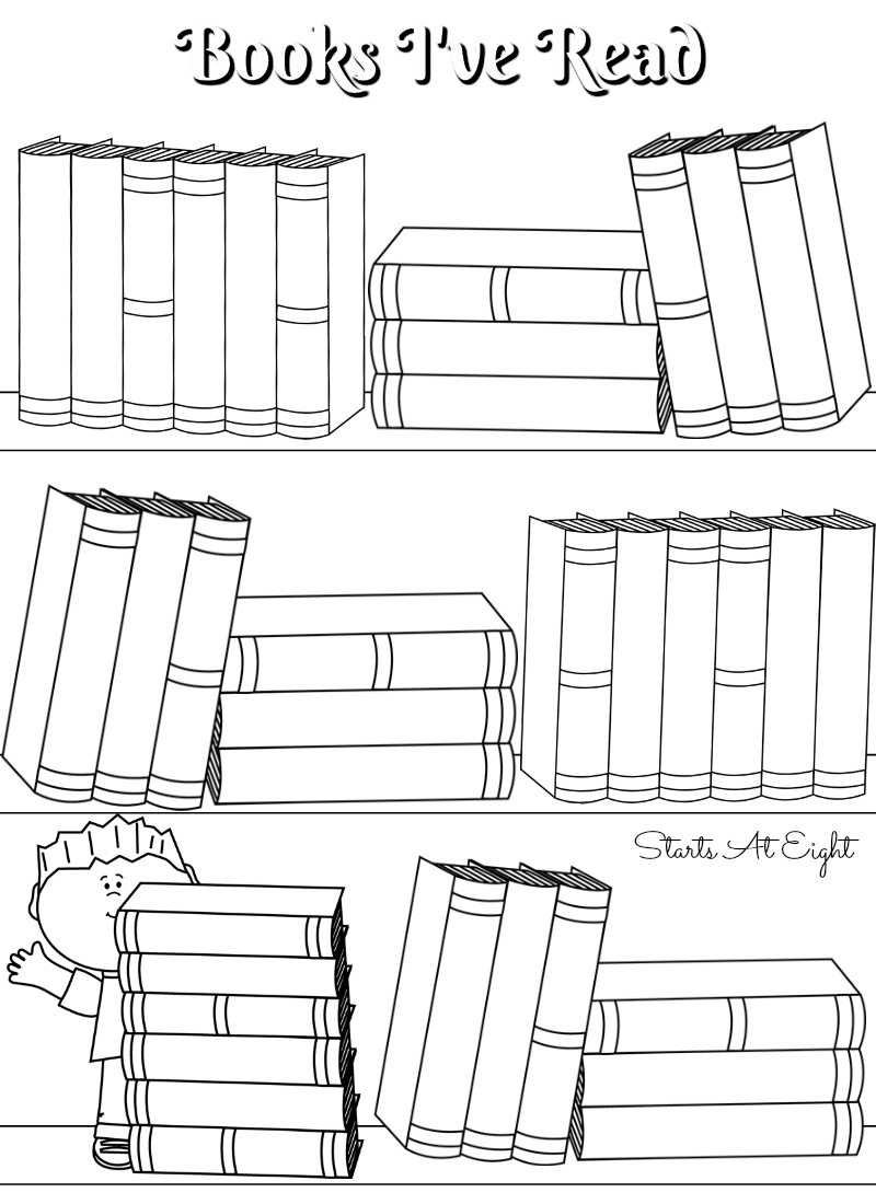 Free Printable Reading Logs ~ Full Sized Or Adjustable For Your - Free Printable Books For 5Th Graders
