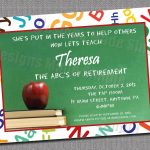 Free Printable Retirement Party Invitations Templates | Gift Ideas   Free Printable Retirement Party Flyers