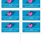 Free Printable Romantic Love Coupons   Free Printable Kinky Coupons For Him