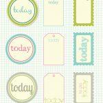 Free Printable Scrapbook Cutouts | Printable For All Topics   Free Printable Scrapbook Templates