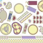 Free Printable Scrapbooking Stuff | Lovetoknow   Free Printable Scrapbook Decorations