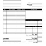 Free Printable Service Invoice | Shop Fresh   Free Printable Out Of Service Sign