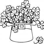 Free Printable Shamrock Coloring Pages For Kids   Free Printable Saint Patrick Coloring Pages