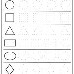 Free Printable Shapes Worksheets For Toddlers And Preschoolers   Free Printable Shapes Worksheets