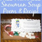 Free Printable: Snowman Soup Poem | Christmas | Snowman Soup   Snowman Soup Free Printable