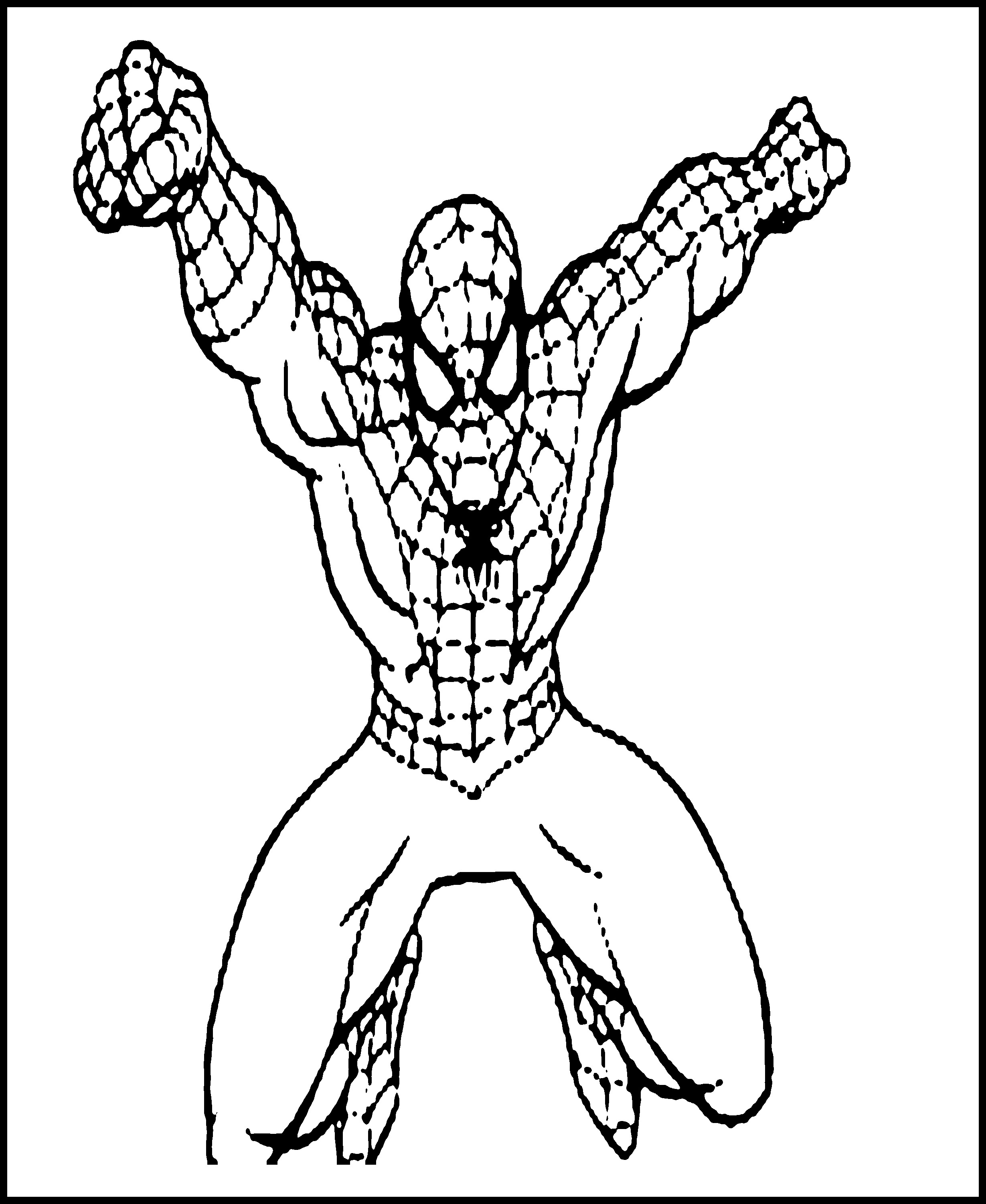 Free Printable Spiderman Coloring Pages For Kids - Man In The Arena Free Printable