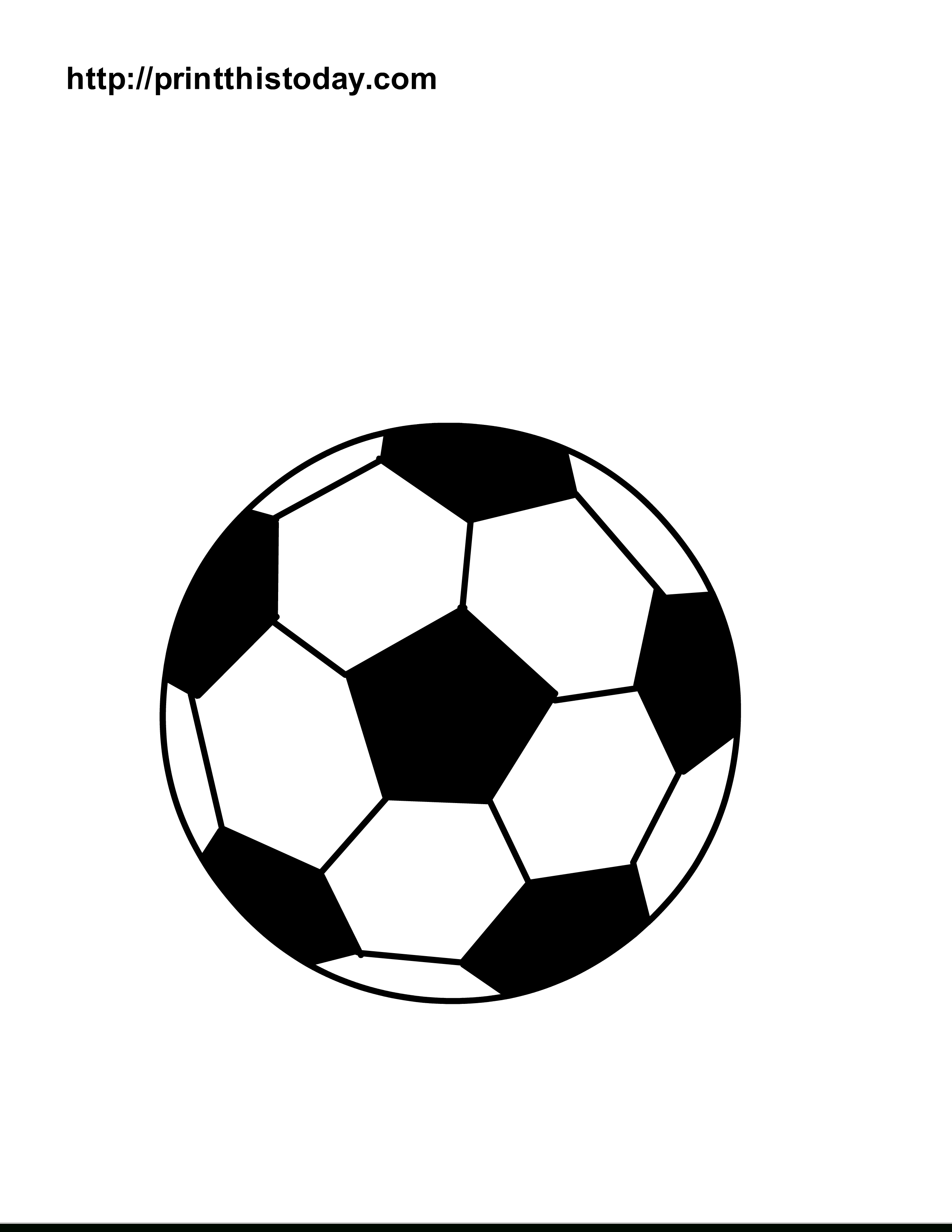 Free Printable Sports Balls Coloring Pages - Free Printable Sports Bookmarks
