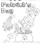 Free Printable St. Patrick's Day Coloring Pages: 4 Designs   Free Printable Saint Patrick Coloring Pages