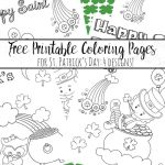 Free Printable St. Patrick's Day Coloring Pages: 4 Designs!   Free St Patrick's Day Printables
