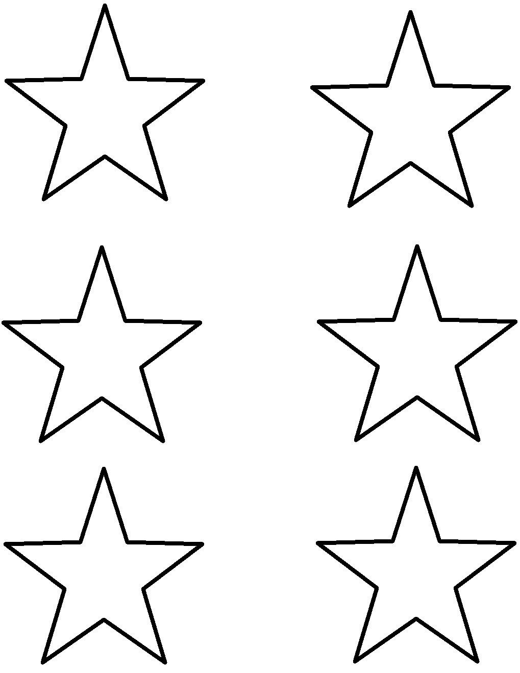Free Printable Star, Download Free Clip Art, Free Clip Art On - Star Template Free Printable