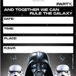 Free Printable Star Wars Birthday Invitations   Template   Star Wars Invitations Free Printable
