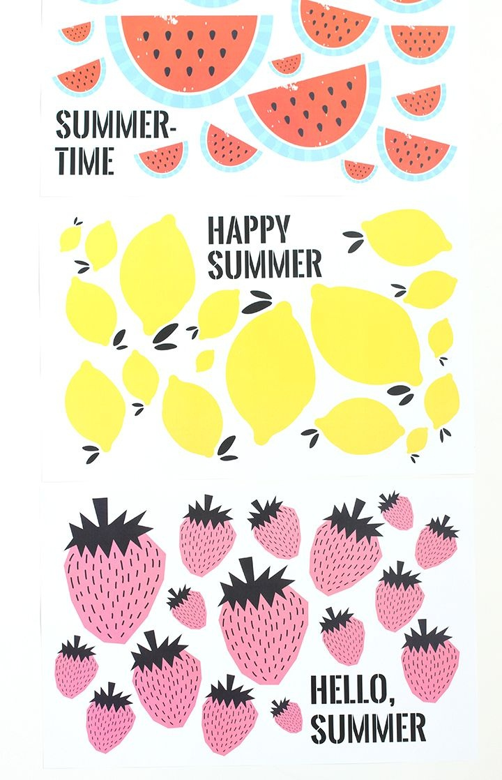 Free Printable Summer Placemats | Diy | Free Printables, Free - Free Printable Summer Pictures