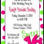 Free Printable Sweet 16 Invitations   Anarchistshemale   Free Printable Sweet 16 Birthday Party Invitations
