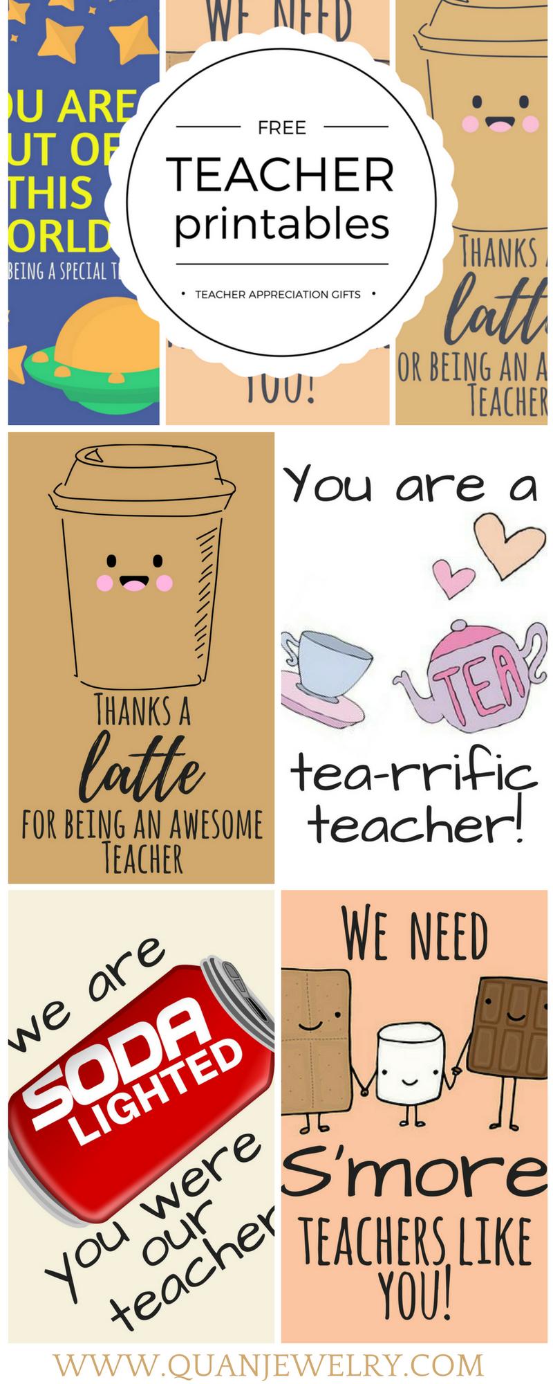 Free Printable Teacher Appreciation Thank You Cards | ✽ Back To - Free Printable Teacher Appreciation Greeting Cards